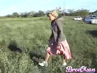 Who wants to watch Bree Olson pee