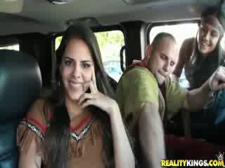 Girl gets Nude and fucked for Money