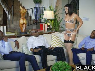 Blacked adriana chechik takes trio od bbcs
