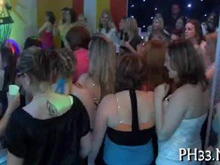 Bang wild patty at night club