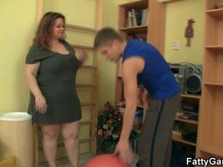 veľký, prsia, hardcore sex