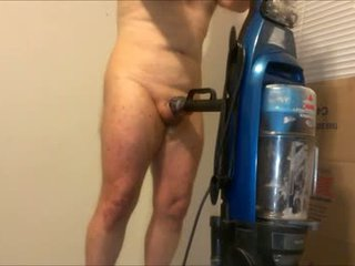 Er रास्ता को बकवास एक vacuum cleaner