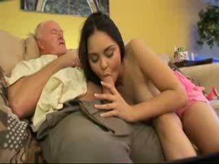 늙은 아버지 씨발 이웃 사람 youngest 딸 비디오