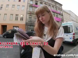 Ersties - Flashing in Berlin!- Public Nudity & Fucking