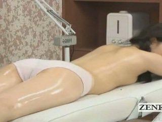 Subtitled Japanese Schoolgirl First Se...