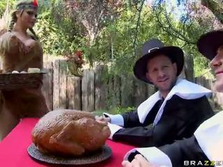 Pesta seks berkumpulan dengan alanah rae breanne benson dan phoenix marie video