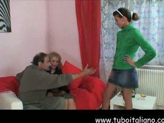 Italienisch reif und teen nonni