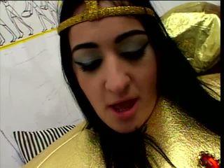 Studly servant screws 角質 埃及的 公主
