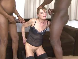 grannies, threesomes, interracial