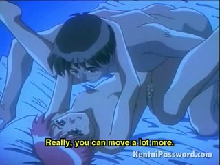 Saucy Anime Honey Making Love With Her Boyfriend In Bedroom