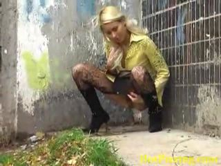 blondes, outdoor sex, beauty