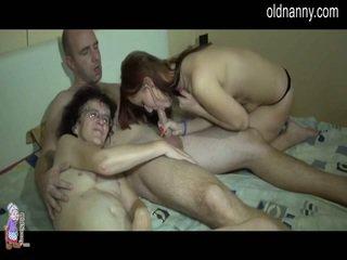 výstrek, starí aj mladí, amatérske porno