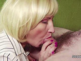 18yr régi német fiú elcsábítás step-mom masturbation és fasz