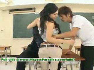 Sora aoi innocent sexy japanisch student ist getting gefickt