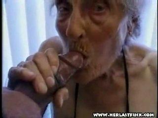 Hård xxx åldrad grandmother porr