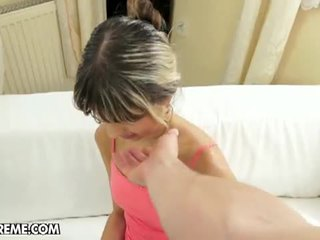 Doris ivy getting good fucked on bed.