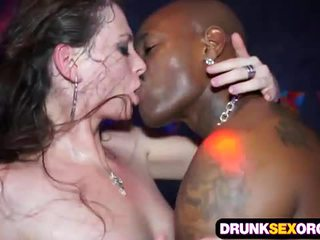 Sex orgy club drunk
