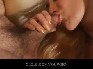 remaja, mencium, suckingcock