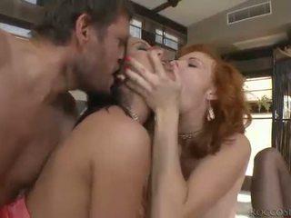 hardcore sex, oral sex, двойно проникване