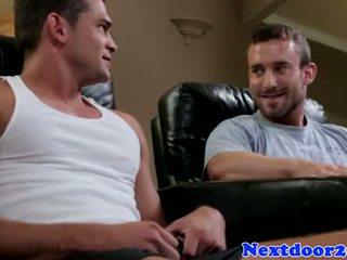 Muscular homo jock pounding ciasne tyłek