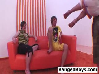 4 juvenile banged boys!