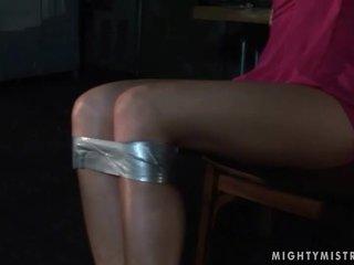 Anita pearl gets bondaged a potrestán