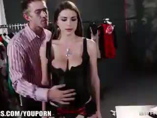 große brüste, brazzers, rotschopf