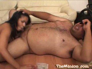Cockhungered aliana cinta meets yang minion