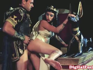 Egipskie laska ssanie i pieprzenie ciężko