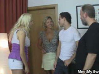 sexo grupal, big boobs, swingers