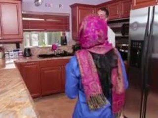 Ada an arab teen filled mit creamy wichse