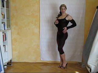 crossdresser, solo, kadın iç çamaşırı