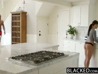 Blacked moderate adriana chechick cheats with a huge ireng jago
