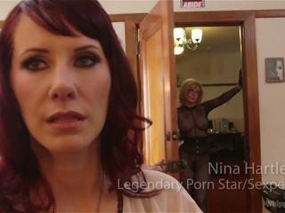 Retribution maitresse madeline taken down dominated at anally fucked by nina hartley