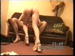 British amateurs fucking on the sofa