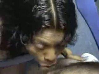 oral sex, cum shot, black-haired