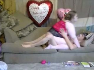 Fat Mom Ride Son Dick On Couch And Orgasm On Webcam