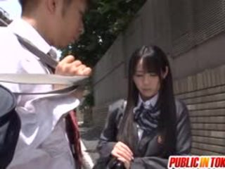 An Orgy Breaks Out On A Bus With Schoolgirl Mana Katase