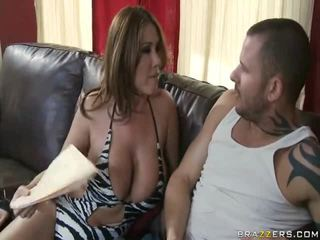 Dulce milf eating onto the meaty penis