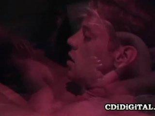 Kaylan nicole مفلس أشقر الرجعية فتاة مارس الجنس شاق