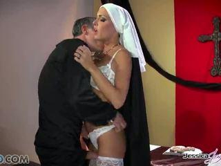Гаряча nuns jessica jaymes і nikki benz