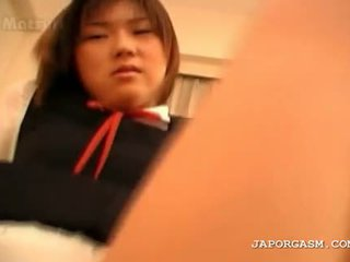 Turned auf teen asiatisch gets fotze hole spread