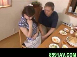 일본의, 사람, 개그
