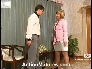 Mature Porn Is What This Porn Clip Is About.