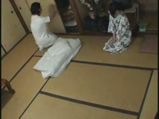 japanisch, fick, massage