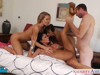 セクシー 女の子 jessica jaymes, lisa ann と nicole aniston