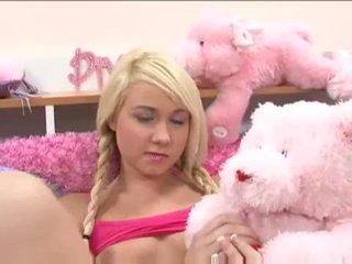 Monada rubia adolescente alexa skye gets ella en con un cachonda dude vídeo