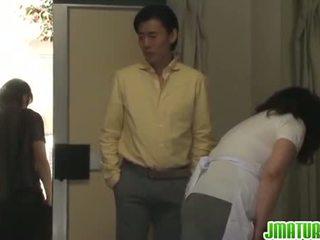 जापानी, blowjob, हस्तमैथुन