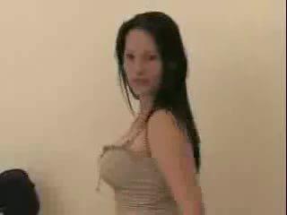 Slut Performs in Her Hotel Room