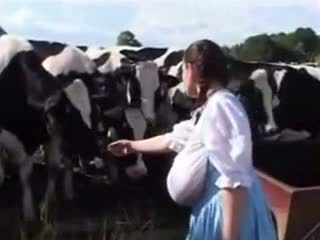 גרמני חלב עוזרת בית: חופשי מצחיק פורנו וידאו